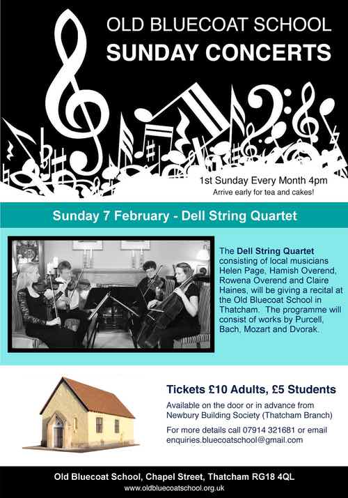Sunday 7 February – Dell String Quartet